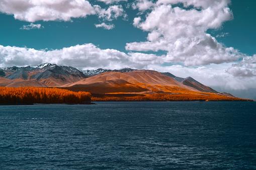 Multiple Exposure「Scenic view of Lake Tekapo, New Zealand」:スマホ壁紙(8)