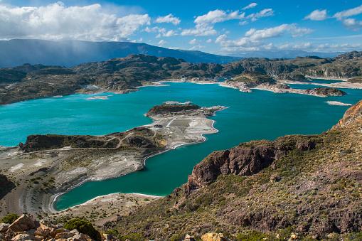 cloud「Scenic view of Laguna Verde, Chile Chico, General Carrera Province, Chile」:スマホ壁紙(8)