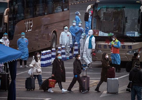 Bus「China Works to Contain Spread of Coronavirus」:写真・画像(9)[壁紙.com]