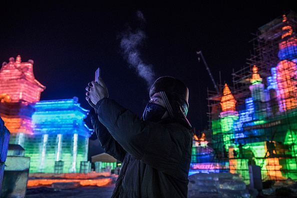 Harbin「Workers In China Prepare For World's Largest Ice Festival」:写真・画像(4)[壁紙.com]