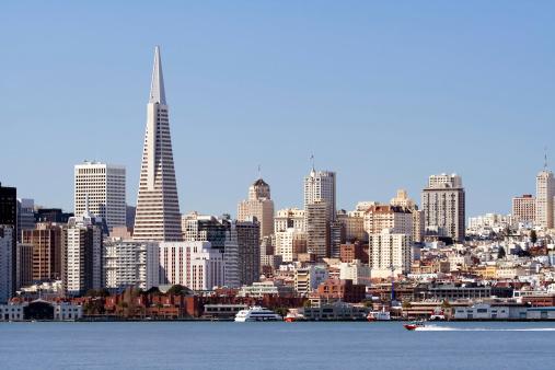 Pyramid Shape「Boat on San Francisco Bay」:スマホ壁紙(4)