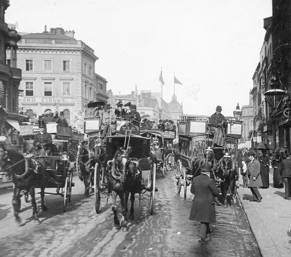 1870-1879「Old Oxford Circus」:写真・画像(4)[壁紙.com]