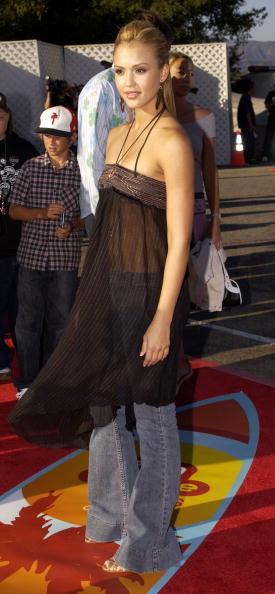Sleeveless Dress「2004 Teen Choice Awards - Arrivals」:写真・画像(14)[壁紙.com]