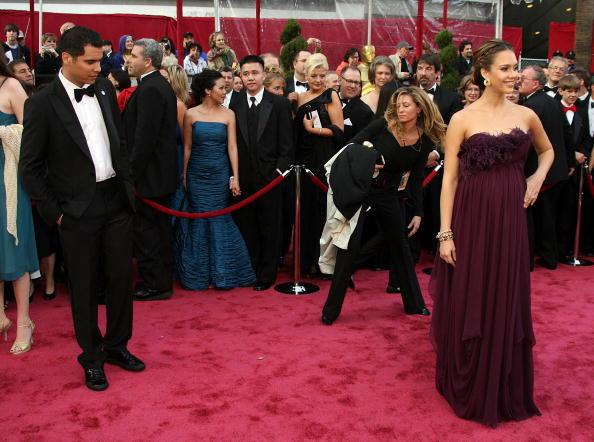 Stud Earring「80th Annual Academy Awards - Arrivals」:写真・画像(10)[壁紙.com]