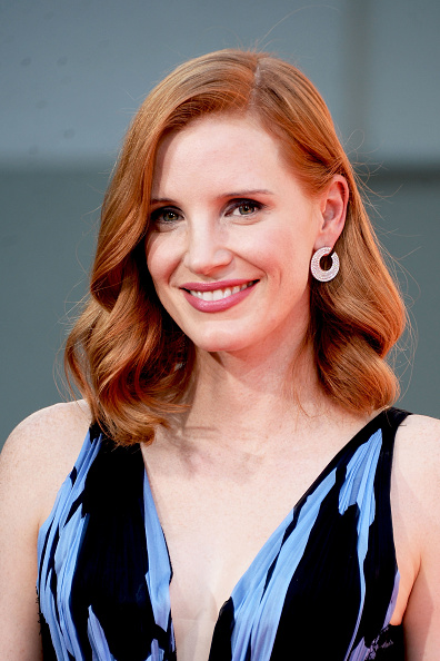Jessica Chastain「Jessica Chastain Hand And Footprint Ceremony」:写真・画像(4)[壁紙.com]