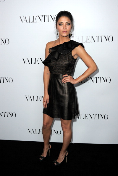 Lace Dress「Valentino Rodeo Drive Flagship Opening」:写真・画像(14)[壁紙.com]