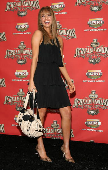 "Oversized Purse「Spike TV's ""Scream Awards 2006"" - Press Room」:写真・画像(3)[壁紙.com]"