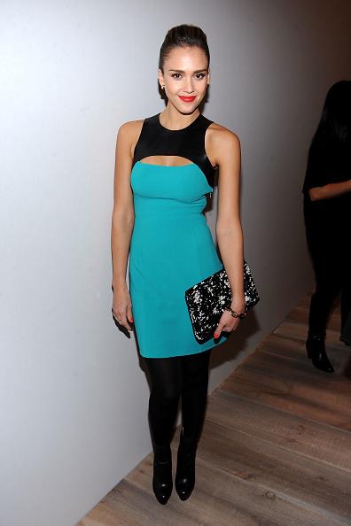 Turquoise Colored「Michael Kors - Backstage - Fall 2012 Mercedes-Benz Fashion Week」:写真・画像(18)[壁紙.com]