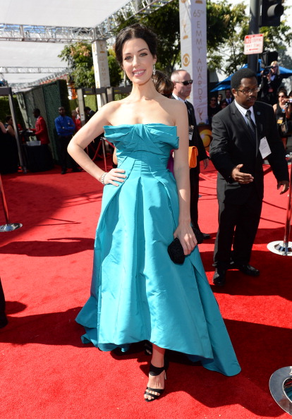 Strapless Dress「Audi Arrivals At The 65th Emmy Awards」:写真・画像(9)[壁紙.com]