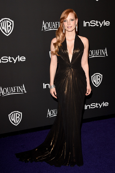Versace Dress「2015 InStyle And Warner Bros. 72nd Annual Golden Globe Awards Post-Party - Arrivals」:写真・画像(12)[壁紙.com]