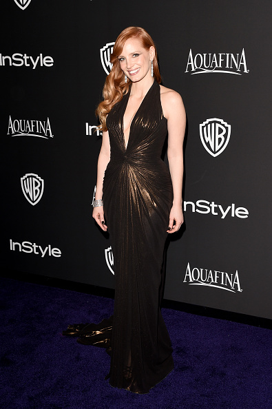 Versace Dress「2015 InStyle And Warner Bros. 72nd Annual Golden Globe Awards Post-Party - Arrivals」:写真・画像(13)[壁紙.com]