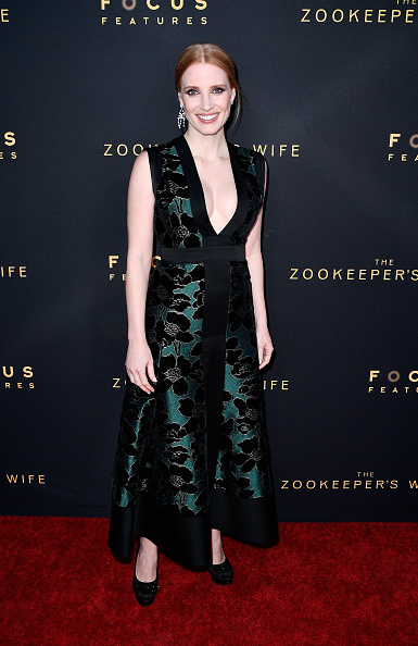 "Black Shoe「Premiere Of Focus Features' ""The Zookeeper's Wife"" - Arrivals」:写真・画像(14)[壁紙.com]"