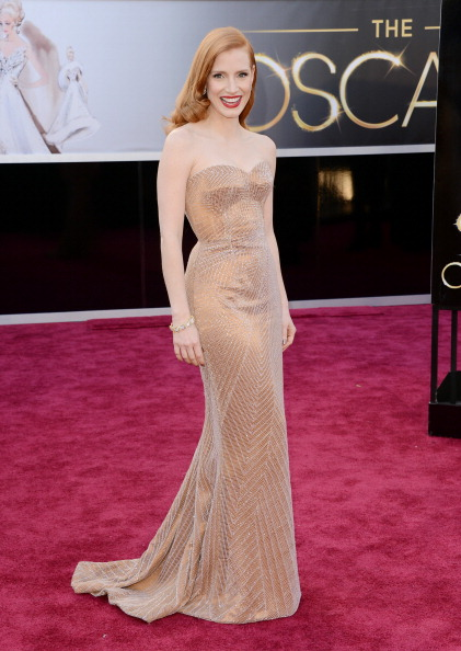 Jessica Chastain「85th Annual Academy Awards - Arrivals」:写真・画像(10)[壁紙.com]