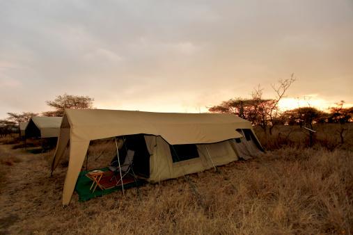 Ngorongoro Crater「Camping tent, Ngorongoro Crater, Tanzania」:スマホ壁紙(16)