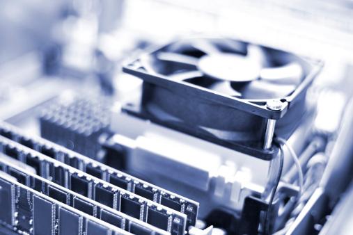 Mother Board「CPU, Fan & RAM - open PC」:スマホ壁紙(1)