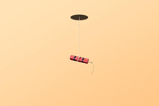 Firework - Explosive Material「Dynamite hanging in a string」:スマホ壁紙(17)