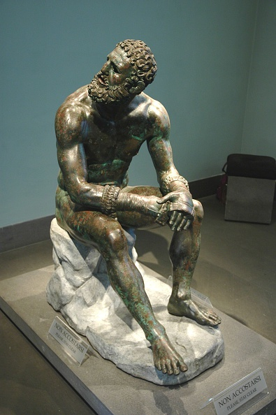 Leaf Vegetable「The Boxer Of Quirinal Or Therme Boxer. Bronze Hellenistic Orginal Found At The Remains Of The Baths  Artist: Werner Forman.」:写真・画像(11)[壁紙.com]