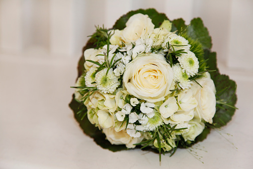 結婚「White bridal bouquet」:スマホ壁紙(0)