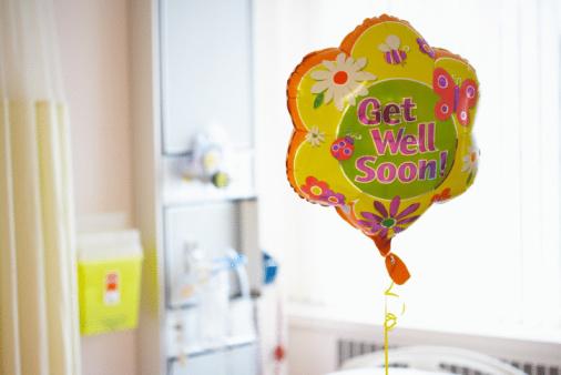 Healing「Get well soon balloon」:スマホ壁紙(4)