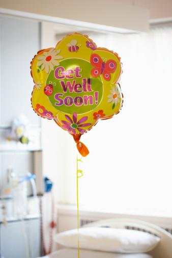 Support「Get well soon balloon」:スマホ壁紙(1)