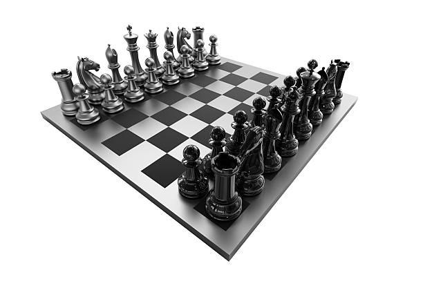 chessboard on white background:スマホ壁紙(壁紙.com)