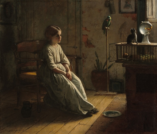 Oil Painting「The Pets」:写真・画像(17)[壁紙.com]