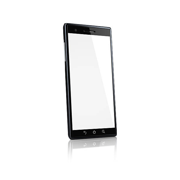 Smartphone with blank screen - side:スマホ壁紙(壁紙.com)
