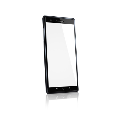 Telephone「Smartphone with blank screen - side」:スマホ壁紙(7)