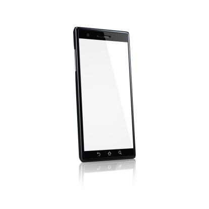 Generic - Description「Smartphone with blank screen - side」:スマホ壁紙(7)