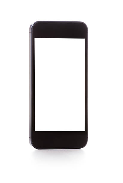 Smartphone with Blank Screen isolated on white:スマホ壁紙(壁紙.com)