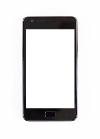 Smart Phone「Smartphone on white background」:スマホ壁紙(10)