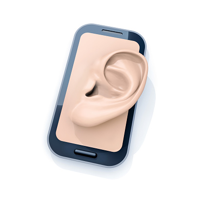 Sensory Perception「Smartphone with ear」:スマホ壁紙(8)