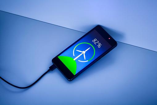 Percentage Sign「Smartphone charging with renewable energy」:スマホ壁紙(8)