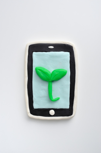 Child's Play Clay「Smartphone viewing the Plant was made ??from c」:スマホ壁紙(6)