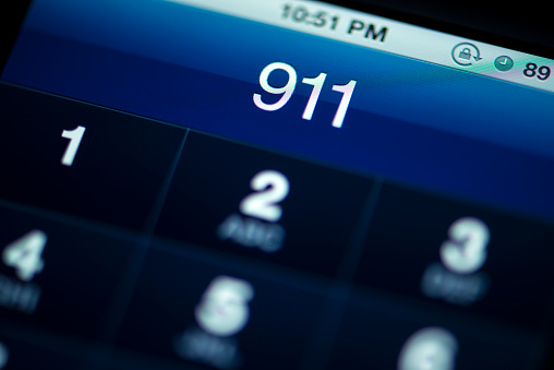 Emergency Services Occupation「Smartphone Call to 911」:スマホ壁紙(7)