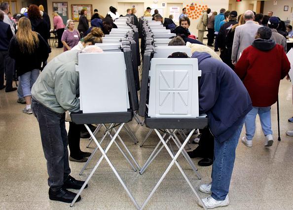 Bestof「Americans Go To The Polls To Elect The Next U.S. President」:写真・画像(9)[壁紙.com]