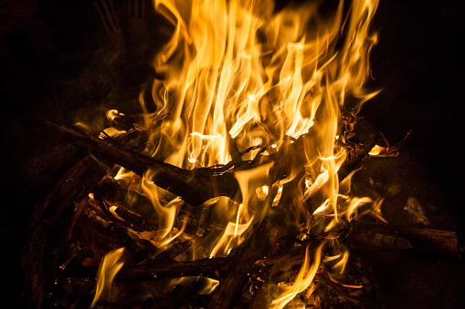 Colorado「A campfire at the Loma, Colorado boat launch.」:スマホ壁紙(18)