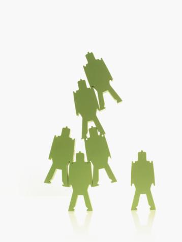 Battle「Green paper people」:スマホ壁紙(8)