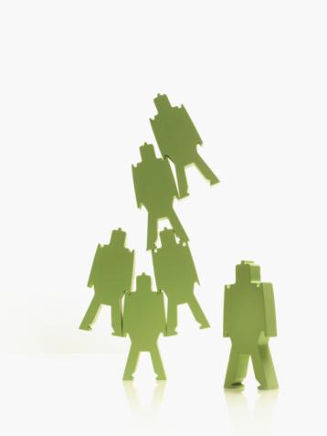 Battle「Green paper people」:スマホ壁紙(19)