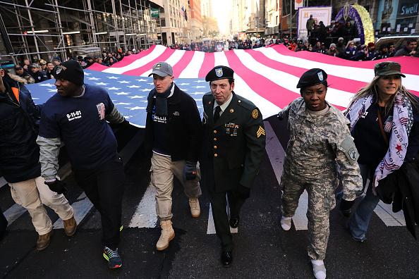 Veteran「Veterans Day Parade Held On New York's 5th Avenue」:写真・画像(7)[壁紙.com]