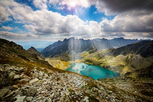 Tatra Mountains「Great Hinczowy Pond in High Tatra Mountains, Slovakia」:スマホ壁紙(10)