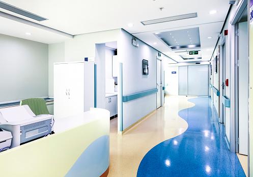 2018「Hospital corridor」:スマホ壁紙(15)
