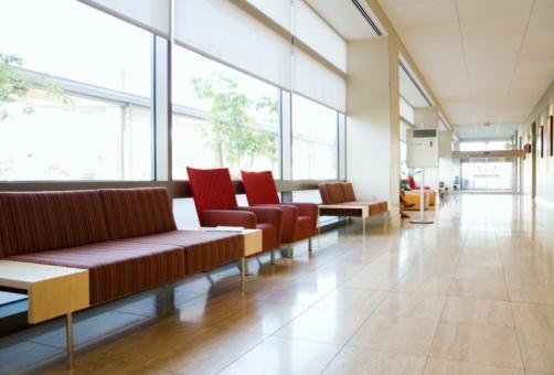 Waiting Room「Hospital corridor and waiting area」:スマホ壁紙(15)