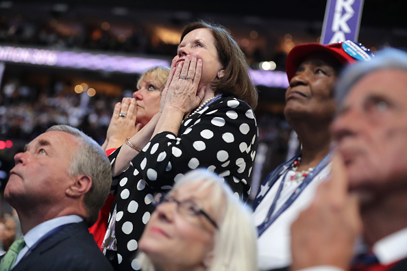 Philadelphia - Pennsylvania「Democratic National Convention: Day Three」:写真・画像(16)[壁紙.com]