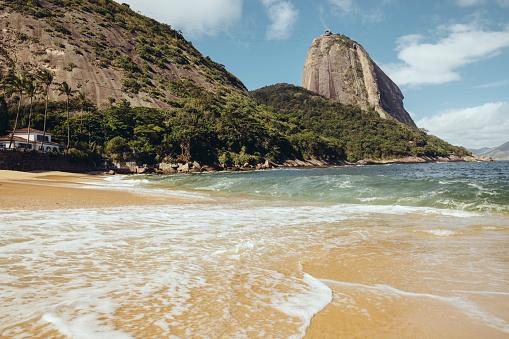 Rio「Sands of Praia Vermelha and Sugarloaf Mountain」:スマホ壁紙(18)