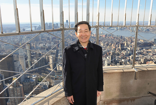Empire State Building「Consul General Sun Guoxiang Lights The Empire State Building To Celebrate The Lunar New Year」:写真・画像(3)[壁紙.com]