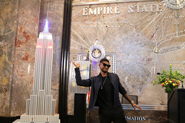 Empire State Building「Usher Lights The Empire State Building In Celebration Of Independence Day」:写真・画像(5)[壁紙.com]