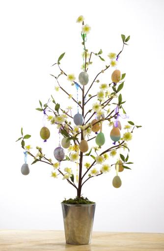 イースター「Easter egg tree」:スマホ壁紙(17)