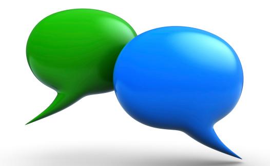 Speech Bubble「3D talk bubbles」:スマホ壁紙(15)