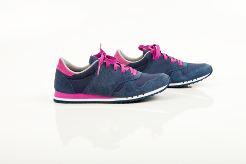 Purple Shoe「Coloured sports shoes」:スマホ壁紙(1)